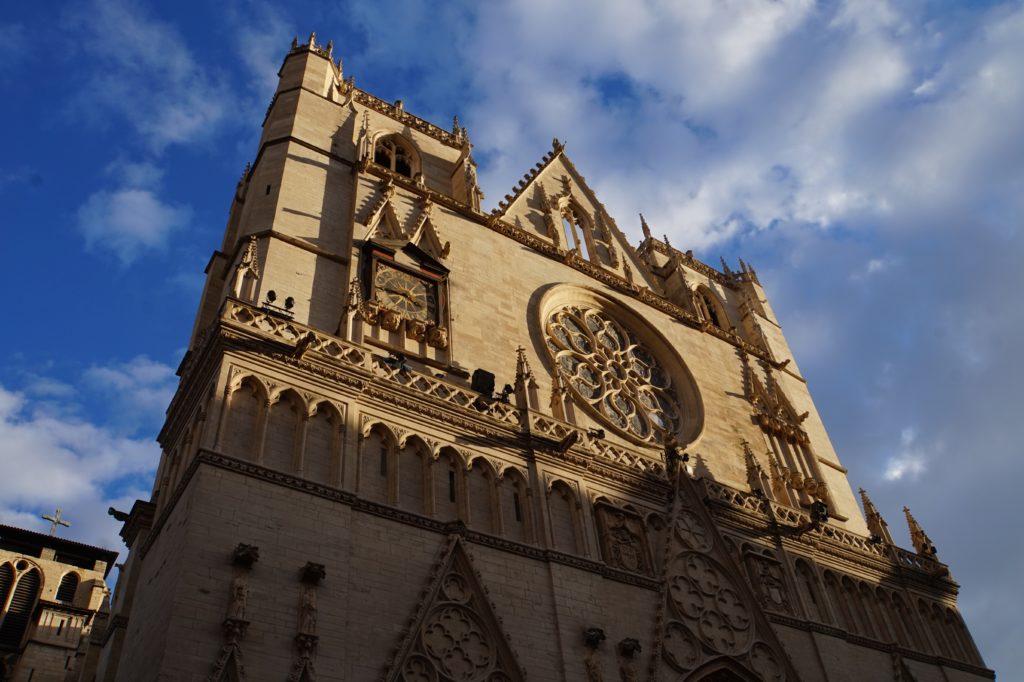 リヨンのサンジャン大教会