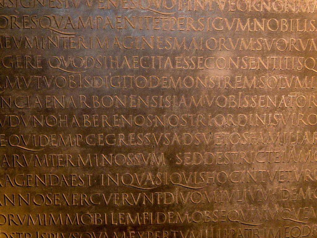 サン・ピエール教会博物館のローマ字