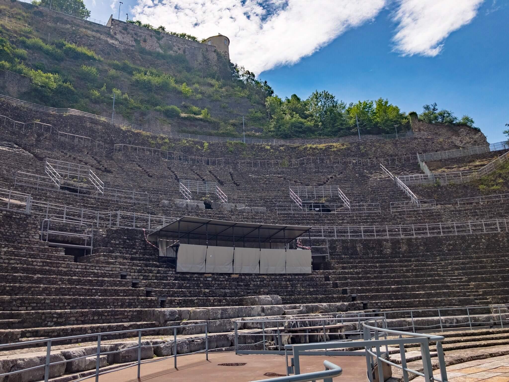 ヴィエンヌのローマ劇場跡