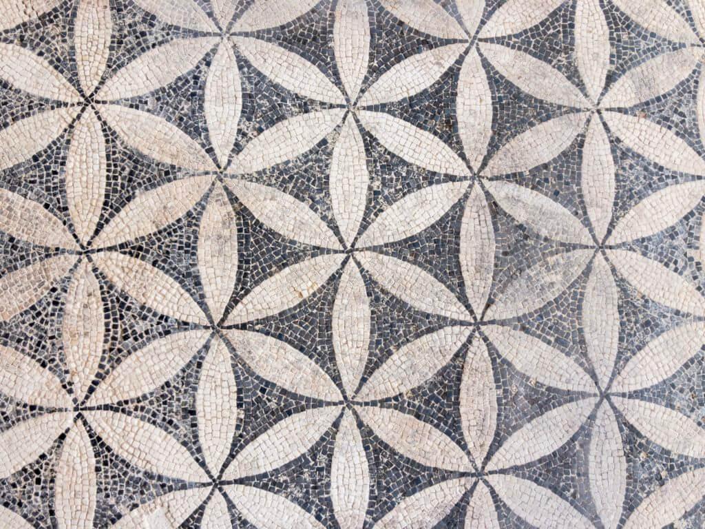 ガロ・ローマ博物館のモザイク