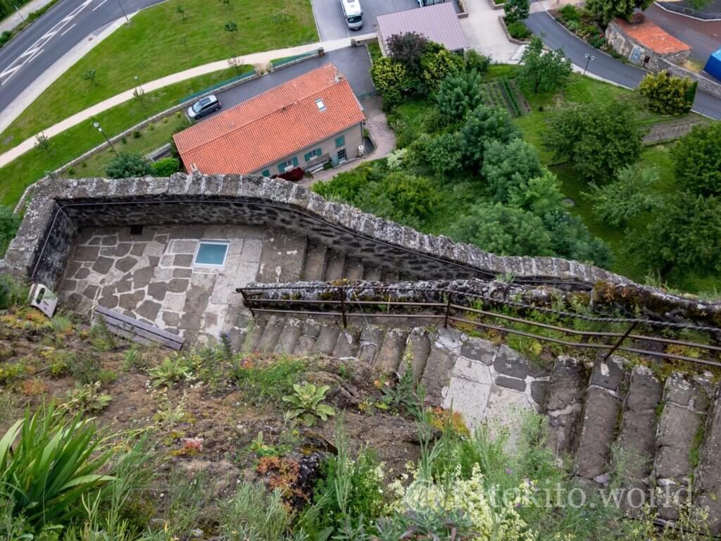 ルピュイの奇岩の階段